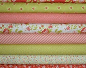 Ella Ollie Fat Quarter Bundle of 8 by Joanna Figueroa of Fig Tree for Moda