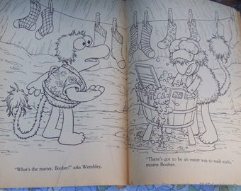 Vintage 1984 Fraggle Rock Coloring Book. 48 Pages  to Color. Printed in the USA. Jim Henson Muppets.