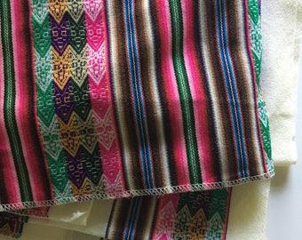 Vintage boho tablecloth, large boho table decor, boho style fabric, boho fabric throw,