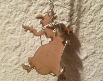 Wild Woman Necklace Pendant