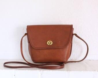 Vintage Coach Bag // Crossbody Bag // Coach Quincy British Tan 9919 Purse Handbag
