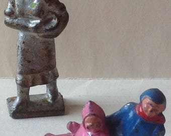 Miniature Antique lead Figurines