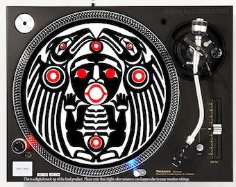 Aztec Eagle Warrior - DJ slipmat