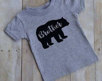 Brother bear t shirt - baby t-shirt - kid t-shirt - toddler t-shirt - funny kid shirt - Mama bear