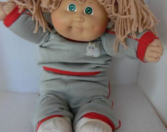 Collectible Cabbage Patch Kids Vintage Doll 1980s