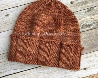 Mens Knit Hat, Merino/Alpaca, Knit Hat, Handmade Hat, Gift Ideas, Menswear,