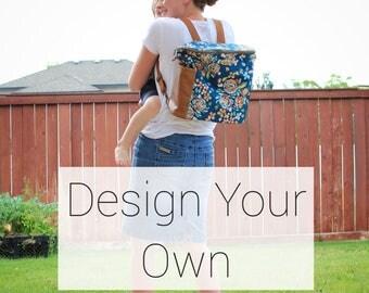Design Your Own- Madelyn Backpack Diaper Bag