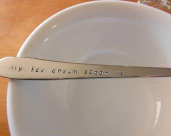 My Ice Cream Spoon Parfait