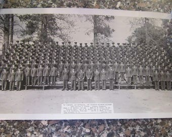 1956 camp Lejeune N.C. photo A company first battalion photograph