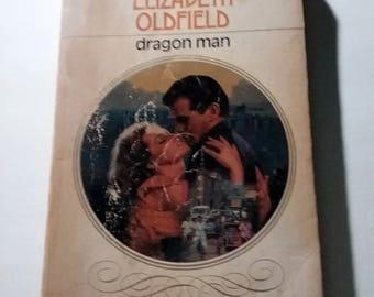 Dragon Man by Elizabeth Oldfield Paperback romance 1985 vintage