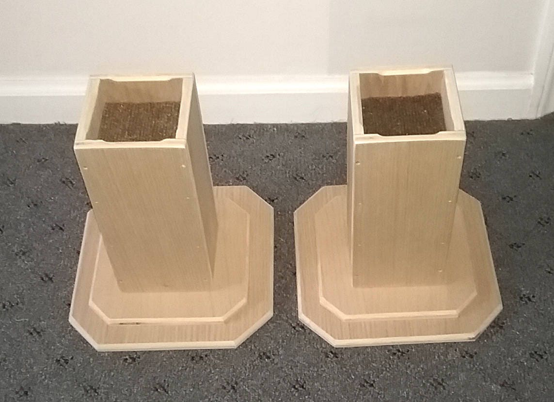 dorm room bed risers 10 inch all wood construction. Black Bedroom Furniture Sets. Home Design Ideas