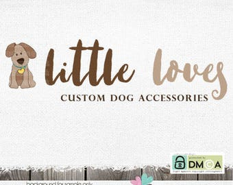 dog logo - premade logo - dog sitting logo - dog walker logo - Premade Logo Dog Logo Puppy Logo Design - Dog photography pet logo design