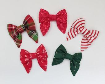Holiday Sailor Bows