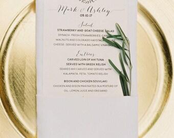 Custom Printable Digital Menu, Brunch Menu, Dinner Menu, Party, Dinner Party, Shower, Wedding, Birthday,Custom Digital File
