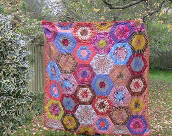 Handmade to order - patchwork quilt