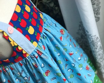 School Dress, Summer, Back to School, School House | Toddler, Girl | Free Shipping