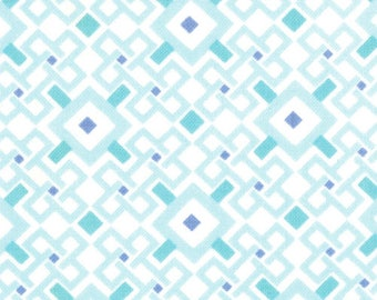 Kate Spain Fabric, Pagoda Tranquility, Good Fortune by Kate Spain for Moda Fabric, 27108-16