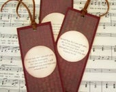 Scripture Bookmarks for Men, Set of 3, Isaiah 41:10, Do not Fear, For I am with You, Christian Gifts, Sunday School Gifts