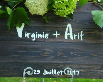 Wedding Guest Book alu Wood Wedding Guestbook Rustic Mountain Guestbook Wedding Guestbook minimalist