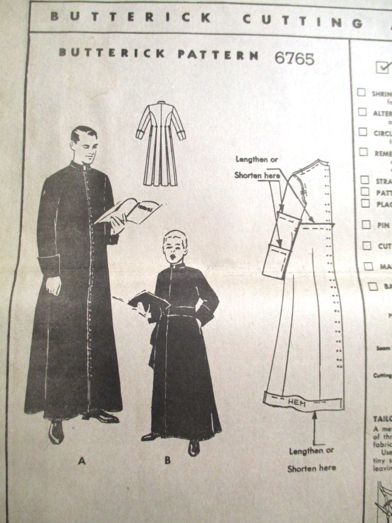 Vintage 1950s traditional priests cassock fitted priest robe 1499 jeuxipadfo Images