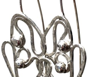 Organics Sterling Silver Earrings