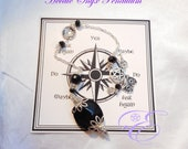 Hecate Pendulum - Onyx, with Board and Instructions - Pendulum Divination