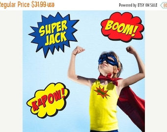Super Hero Decal Etsy - Superhero wall decalssuper hero wall art etsy