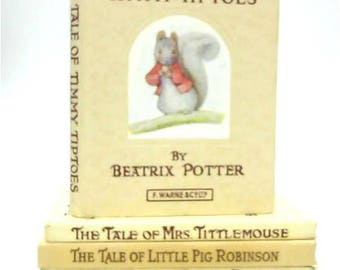 5 Beatrix Potter Pocket-Sized Hardbacks 1496051607CJD