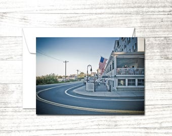 Block Island Note Card | Summer photograph | Greeting Card | Seaside notecard | Blank Note Card | Blank Greeting Card