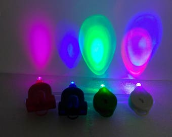Pink, Blue, Green or Multi Color Mini Party and Craft LED Lights