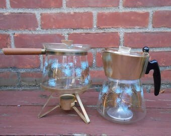 MCD David Douglas Pine Cone Coffee Pot And Carafe Coffee Warmer