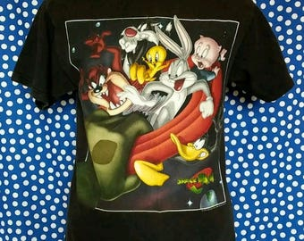 1996 Space Jam t-shirt, medium