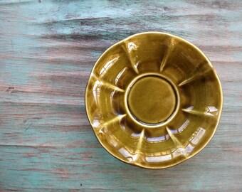 Olive Green McCoy Pottery Dish, Succulent Planter, Vintage Planter, Green Decor, Indoor Garden, McCoy Pottery, Vintage McCoy Pottery Dish