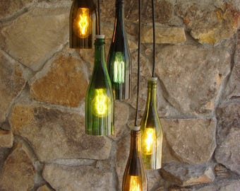 Wine Bottle Light