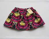 RESERVED African Wax Print Skirt Girl's Size Three
