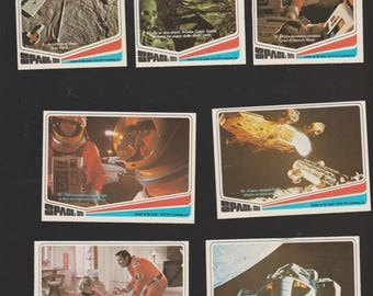 Lot of 7 Space: 1999 TV Show trading cards