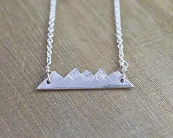 Mountain Range Necklace - small