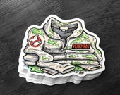 Slimed Venkman Ghostbuster Uniform - Sticker Decal - FREE US SHIPPING