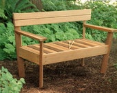 Custom Musical Garden Bench