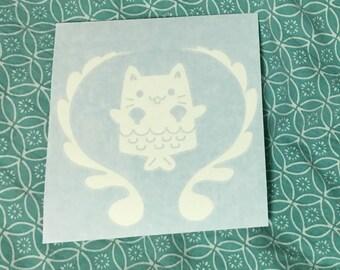 Mer-Kitty Vinyl Decal Sticker