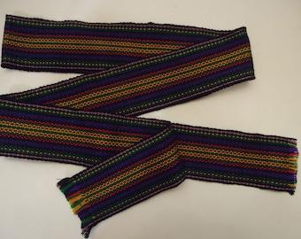 Ukrainian hand woven belt, krayka. #20