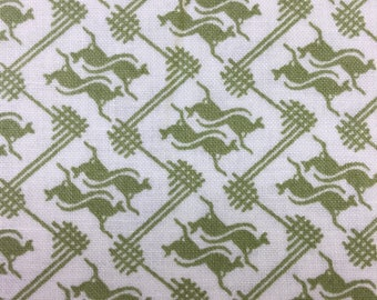 "In the beginning "" Roo"" mini kangaroos cotton fabric by the Half Metre"