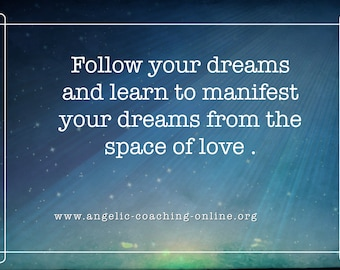 Learn to manifest from the space of love MP3