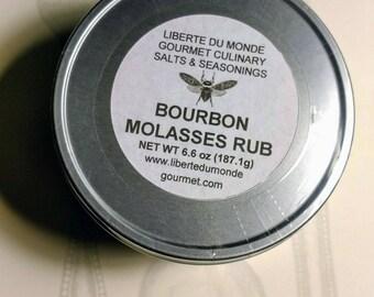 BBQ Rubs & Seasonings in 8 oz Food Safe Tins