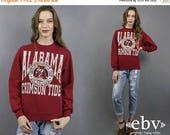 Alabama Fan Gift Vintage Alabama Gift Alabama Sweatshirt Vintage 90s Crimson Tide Sweatshirt S M Alabama Gift Crimson Tide Gift Roll Tide