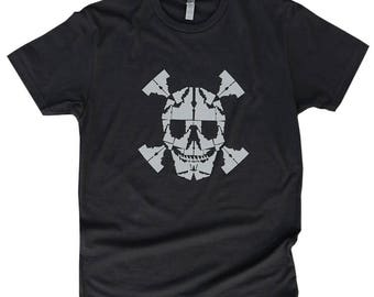 Skull Idaho Tee -BANANA ink