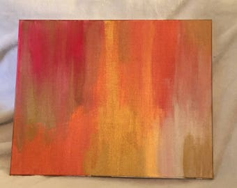 Red and Gold Divinity *Cold Metallics Series #3*