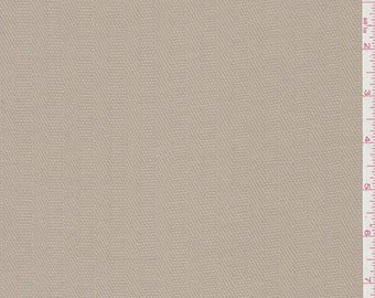 Pale Brown Rayon Suiting, Fabric By The Yard