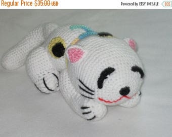 ON SALE - 10% OFF Crochet Japanese Cat