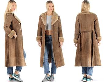 Sheepskin coat | Etsy